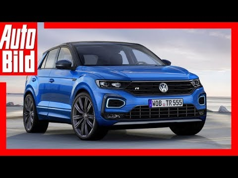 zukunftsaussicht vw t roc r 2018 die sportversion des t roc. Black Bedroom Furniture Sets. Home Design Ideas