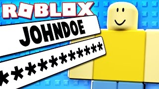 Hacked John Doe Account In Roblox Oldest Roblox Account