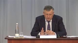 Губернатор ЛО Александр Дрозденко в Гатчине, часть первая: строительство объектов.
