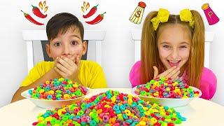 Sasha and Max compete in Baby Tricks Challenge