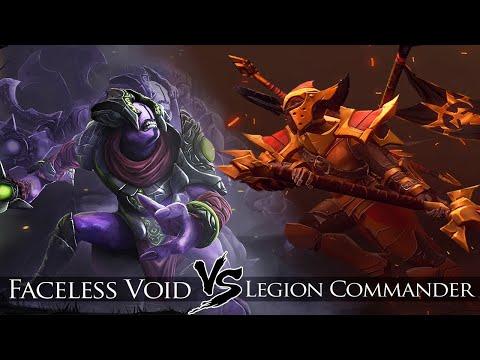 Faceless Void Vs Legion Commander| 6 Slot Both | Slow Farm But Win
