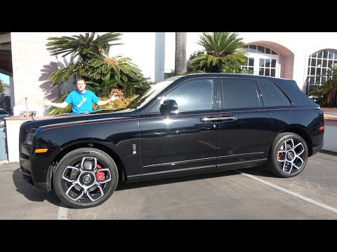 External Review Video BfITC_DcbJE for Rolls-Royce Cullinan SUV
