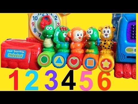 Farben Lernen für Kleinkinder Deutsch Zahlen lernen 123 (für Kinder) Lernspiele