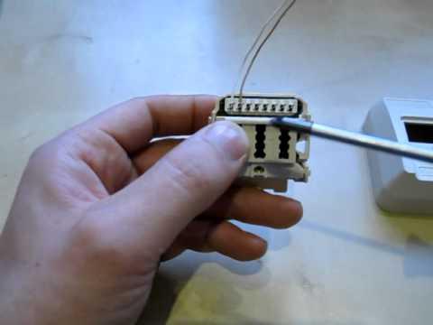 Telefondose verlängern anschließen Beschaltung TAE Telekom Telefonanschluss