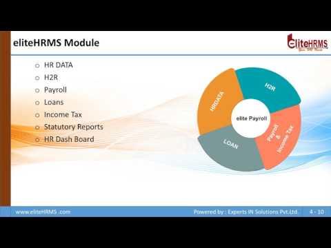 eliteHRMS Presentation V1 0