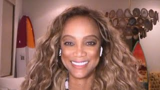 Tyra Banks REACTS to Being the New Host of Dancing With the Stars