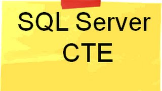 What is CTE ( Common table expression) in SQL Server ( Doubt solving sessions)?