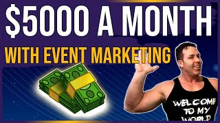 🎃 Event Marketing For $5000 A Month In Passive Income