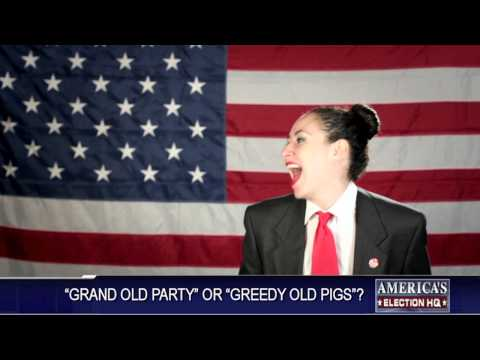G.O.P. Greedy Old Pigs (OFFICIAL) by THE WANTON LOOKS