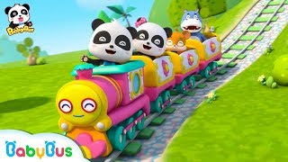 Amusement Park Small Train | Children's Song | Animation | Cartoon | Baby Bus
