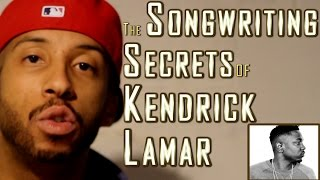 """HOW TO RAP: Kendrick Lamar's Song Structure REVEALED In Minutes, Step-By-Step (""""Swimming Pools"""")"""