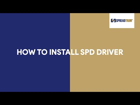 How To Install SPD Driver - [romshillzz]