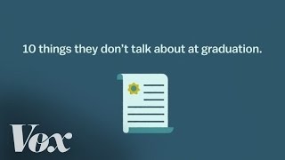 10 things they don't talk about at graduation thumbnail