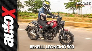 Benelli Leoncino 500 First Ride Video Review