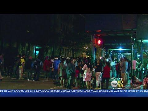 Man Held After Queens Fire