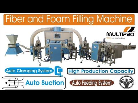 Multipro Fiber & Foam Mixing Sofa Filling Machine/ Sofa Cover Filling/Pillow Filling Machine