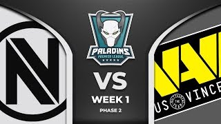 PPL 2019 - Phase 2 - Week 1 - Day 1 - Team Envy vs Natus Vincere