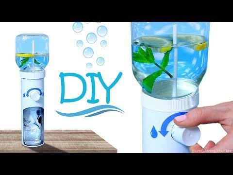 How To Make Working Water Dispenser – DIY Desk Water Cooler