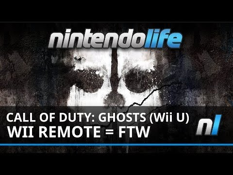 call of duty ghosts wii u pre order