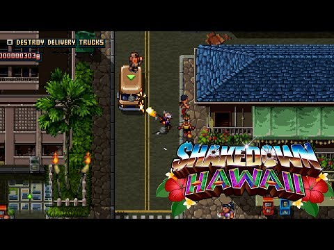 Shakedown: Hawaii (2019) | Game Overview Trailer [Nintendo Switch, PS4, PS Vita, 3DS, PC] thumbnail