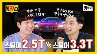 [오피셜] 누구든 꼭 한 번 타보고 싶은 차! 스팅어 2.5T VS 스팅어 3.3T, 당신의 선택은? | 독카다 3회