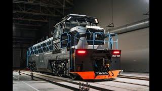 ТМХ презентовал новый локомотив ТЭМ23
