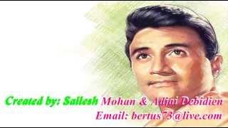 mana janab ne pukara nahin karaoke with lyrics - YouTube