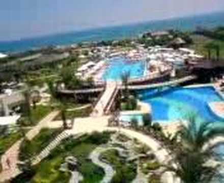 Video uitzicht Sherwood Breezes Resort***** (Antalya, Turkije)