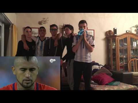Argentina vs Chile | Final Copa América Centenario | Reacción