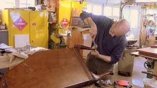 Carving a New Foot for a Cabriole Leg