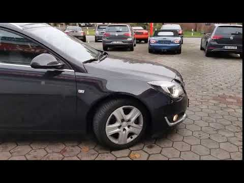 Video Opel Insignia Sports Tourer Business Edition. 8 fach bereift.
