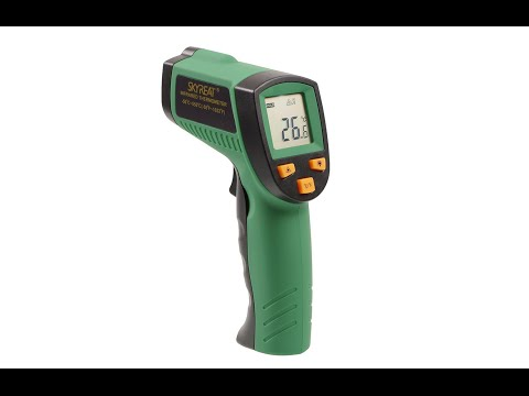 Review SKYREAT Infrarot Thermometer IR Laser Infrarotmesspistole Pyrometer