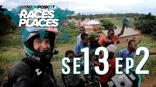 Races to Places SE13 EP02 - Exploring Malawi - Adventure Motorcycling Documentary Ft. Lyndon Poskitt