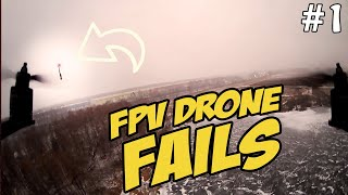 ☀ FPV Фейлы! Пилотный выпуск. [FPV Drones Fails #1]