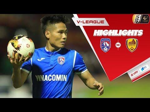 Highlights | Than Quảng Ninh - Quảng Nam | Bất phân thắng bại trên sân Cửa Ông | VPF Media