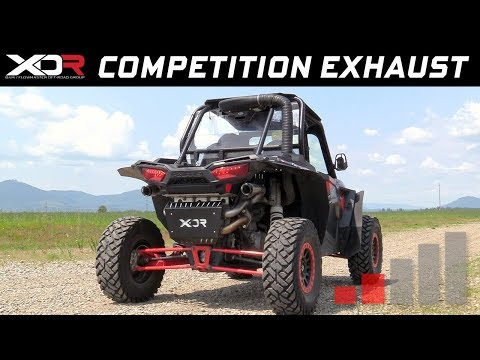 2015-17 Polaris RZR XP1000 & XP4 1000 - XDR Competition exhaust system 7510