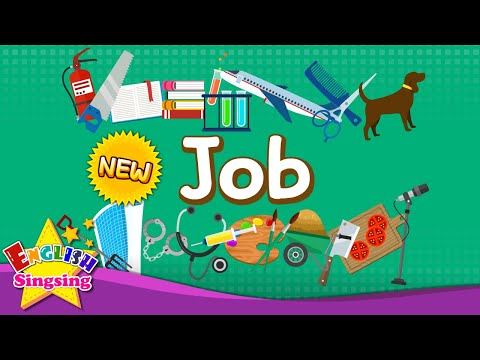 Let's learn about job - Learn English for kids
