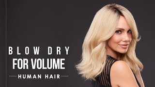 HOW-TO: Blow dry human hair wigs for volume