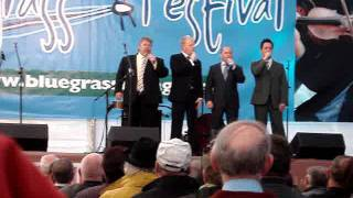 """Dailey and Vincent sing """"Near The Cross"""" at Omagh Bluegrass Gospel 2011"""