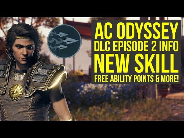 Assassin's Creed Odyssey DLC NEW ABILITY, 30 Free Ability Points