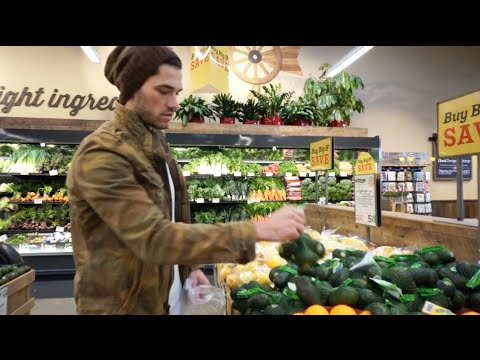 Video Healthy Food Shopping Vlog