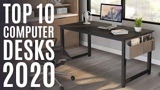 Top 10: Best Computer Desk for 2020 / Office Desk, Writing Desk, Workstation for Home Office