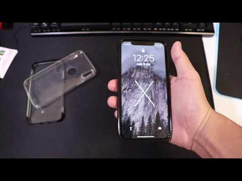 Migliore custodia silicone iPhone X, come applicare pellicola vetro temperato, niente Clear Cloat!
