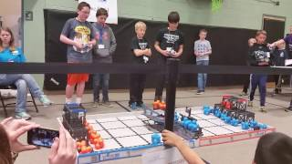 February 25, 2017 Tournament at Fall River Elementary – Qualifying Match with Bill Reed Middle School's Team 43C