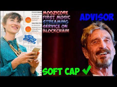 🔴💯🎧Moozicore-музыкальный стриминговый сервис на блокчейне[SOFT CAP REACHED✅]