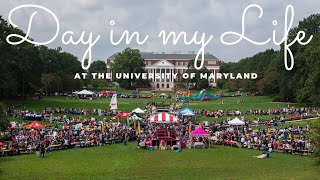 Day In My Life at the University of Maryland