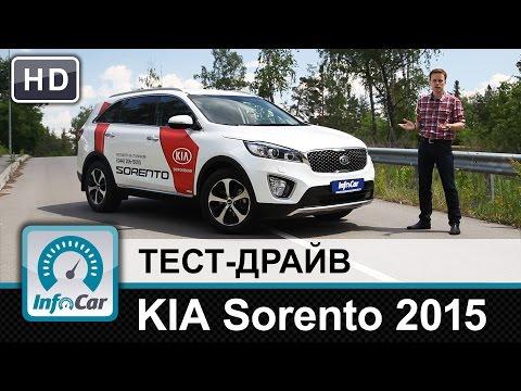 Kia  Sorento Паркетник класса J - тест-драйв 1