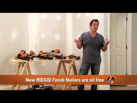 RIDGID Nailers/Compressors Tips & Tricks with David Sheinkopf
