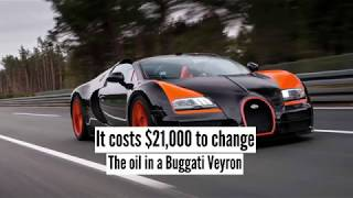 Bugatti Veyron Oil Change Costs $21,000!!! We, Will, Explain Why?