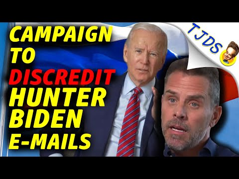 Hunter Biden's Emails -- Desperate Attempt To Discredit Them!